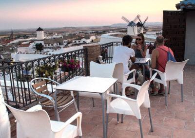 Balcón Restaurante Cueva La Martina Campo de Criptana