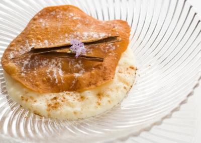 Plato Cremoso de arroz Restaurante Las Musas