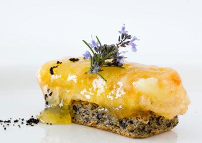 Plato queso frito Restaurante Las Musas