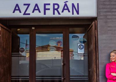 Fachada Restaurante Azafrán Villarrobledo