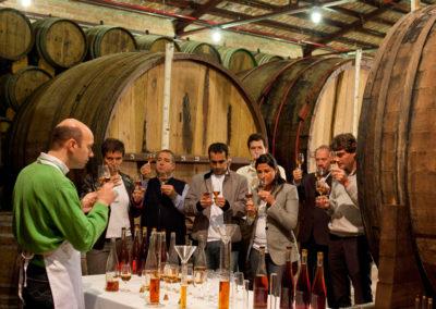 Saber Sabor Taller brandy Destilería en Tomelloso