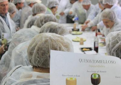 Saber Sabor visita quesería artesana y degustación queso manchego